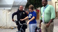 Chandler officer replaces stolen bike for woman with autism