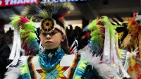 Indigenous dancers compete at North America's largest powwow