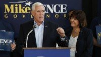 After focus on social issues, Pence facing tough re-election