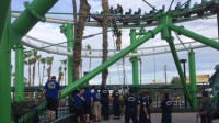 Three people rescued from stuck roller coaster in Phoenix