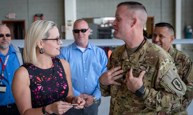 Tax relief bill for Gold Star families is 'personal' for Sen. Kyrsten Sinema