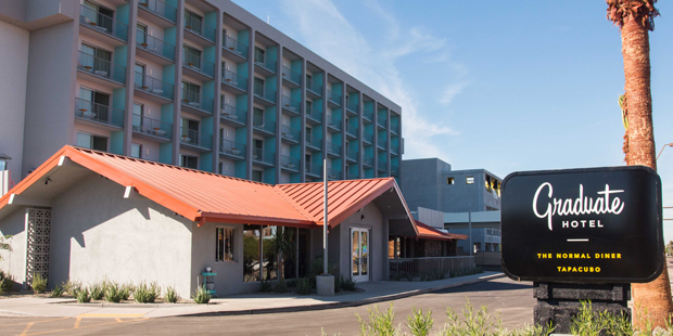 graduate tempe hotel opens across from asu. Black Bedroom Furniture Sets. Home Design Ideas