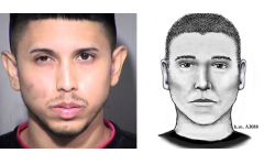 Aaron Juan Saucedo, the suspect in the Serial Street Shooter case in Phoenix, is shown. (Phoenix Police Photos)