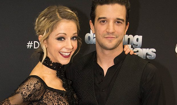 Lindsey Stirling and Mark Ballas (Eric McCandless, American Broadcasting Companies, Inc.)...