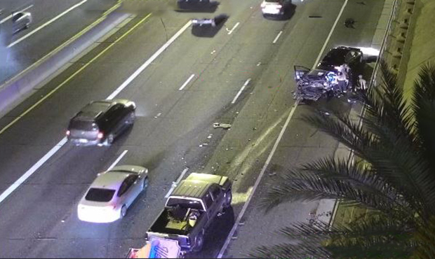 Child, woman killed in multivehicle accident on Phoenix freeway
