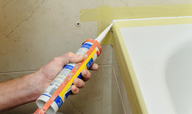 Here S How To Caulk Around Bathroom And Kitchen Fixtures