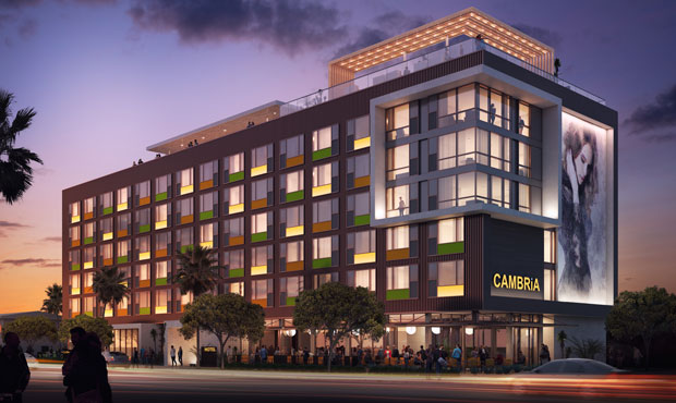 (Cambria Hotels Rendering)...