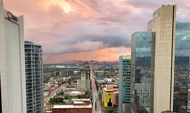 Ranking says Phoenix is a top 50 city in the world, top 20 large city in the US