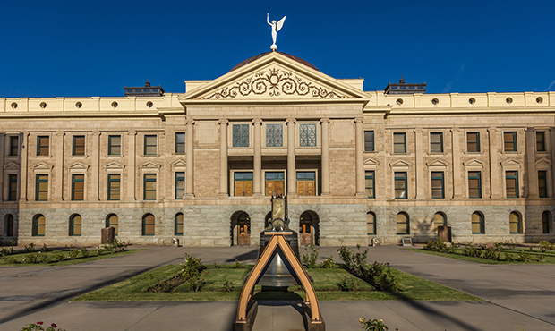 Arizona Capitol. (Photo by: Joe Sohm/Visions of America/Universal Images Group via Getty Images)...