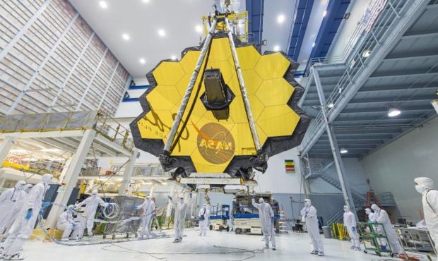 James Webb Telescope. (NASA/AP Photo)...