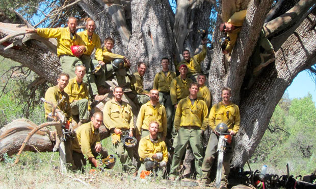 (Facebook Photo/Granite Mountain Interagency Hotshot Crew Learning and Tribute Center)...