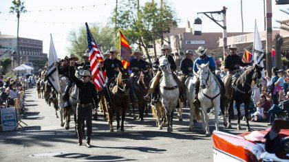 (Scottsdale Parada del Sol Parade and Trail's End Festival photo)...