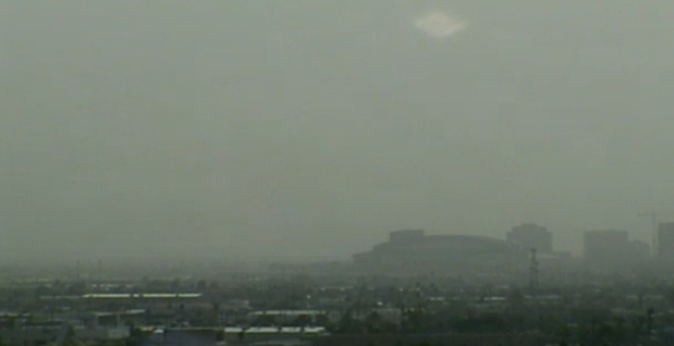 Large dust storm blows into Valley