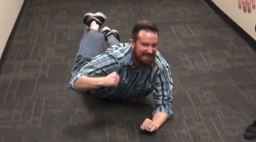 Rob Hunter tries out 'LeBroning'