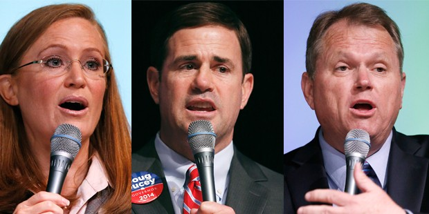 Where do the top three GOP front-runners stand on issues?